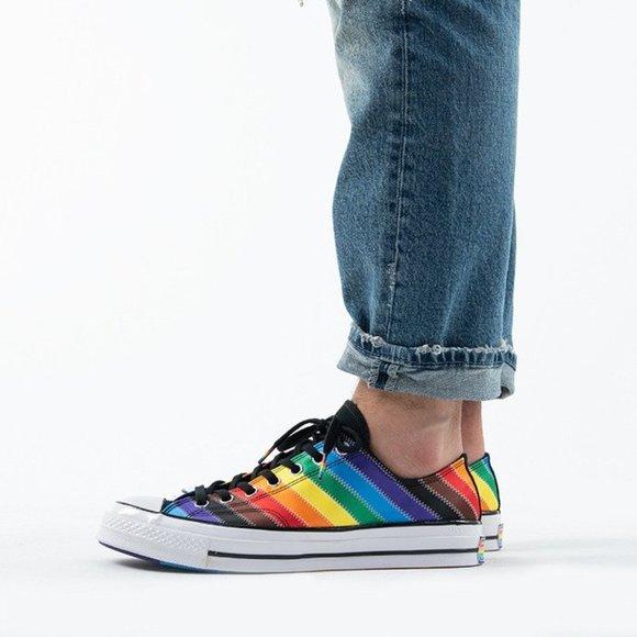 Converse Mens Chuck 70 Ox Pride 167756C Unisex NWB